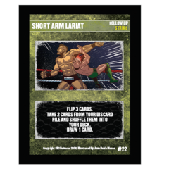 22 - Short Arm Lariat
