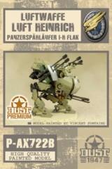AX722 Luftwaffe Luft Heinrich Panzerspahlaufer I-H Flak