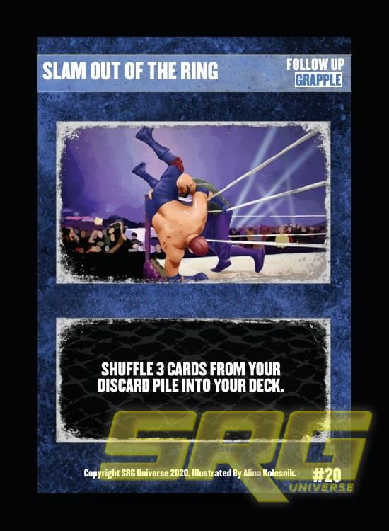 20 - Slam Out of the Ring