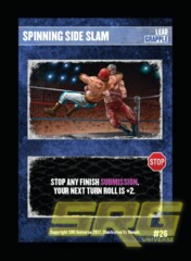 26 - Spinning Side Slam (New)