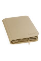 Ultimate Guard Zipfolio XenoSkin - 4 Pocket -  Sand