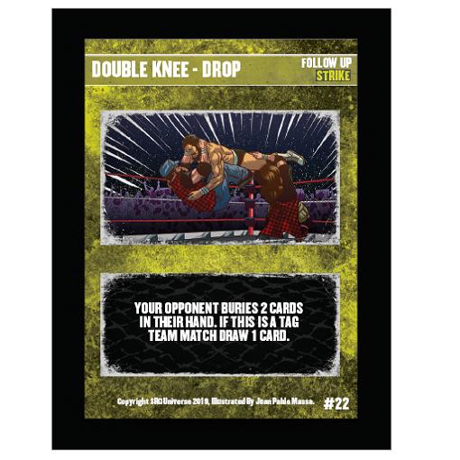 22 - Double Knee – Drop