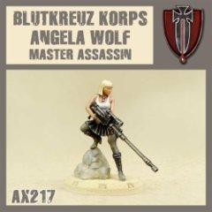 Blutkreuz Korps AX217 Angela Wolf Master Assassin