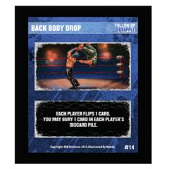 14 - Back Body Drop