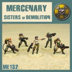ME132 Mercenary Cleaning Squad (Sisters of Demolition)
