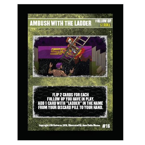 16 - Ambush with the Ladder
