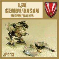 Imperial Japanese Navy JP113 IJN Gembu/Basan Medium Walker (Rocket/Assault)
