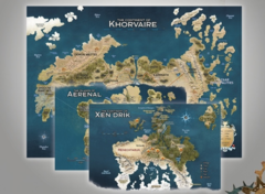 Dungeons and Dragons RPG: Eberron - Rising from the Last War - Nations of Khorvaire Map Set