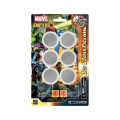 Marvel HeroClix: Avengers Fantastic Four Empyre Dice & Token Pack