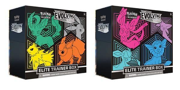Pokemon: Sword & Shield - Evolving Skies Elite Trainer Box