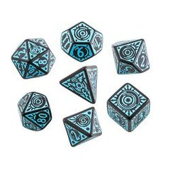 Iron Gods Pathfinder 7 Dice Set