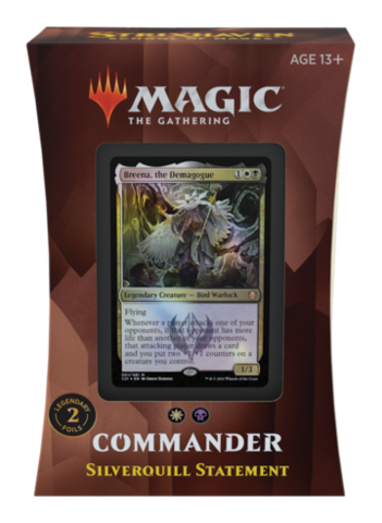 Strixhaven Commander Deck: Silverquill Statement