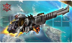 Star Realms Destroyer Mech Playmat