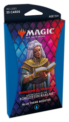 Adventures in the Forgotten Realms Theme Boosters Pack - Blue