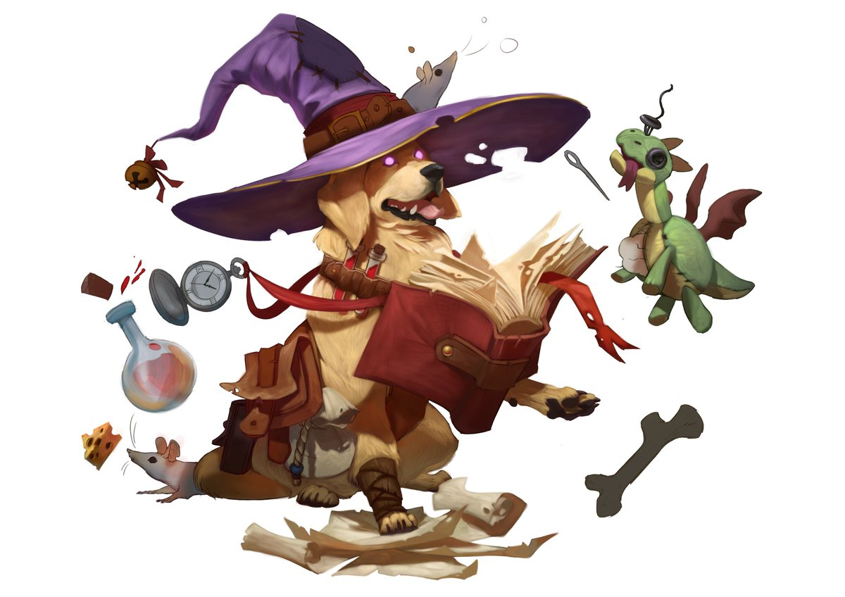 Dungeons & Doggies RPG Oct. 16th @ 1pm