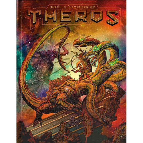D&D 5th Edition: Mythic Odysseys of Theros, Alternate Cover
