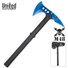 M48 Tactical Axe with Blue Blade