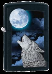 Howling Wolf Zippo