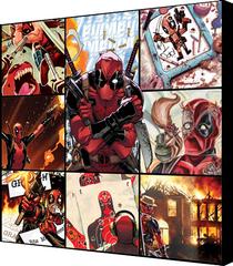 Small Deadpool Canvas