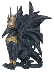 Black And Gold Dragon