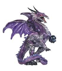 Fierce Purple Dragon