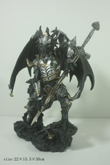 Large Armored Dragon Knight with Sword