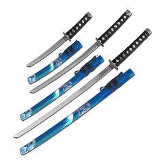 Blue Wave 3 Sword Set SW84BL4