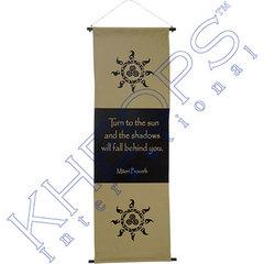 Maori Proverb Large Banner