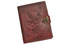 Fairy Leather Journal with Lock 242567