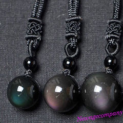 $16.97 Rainbow Obsidian Necklace