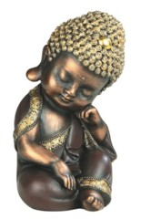 Brown Buddha Thinking