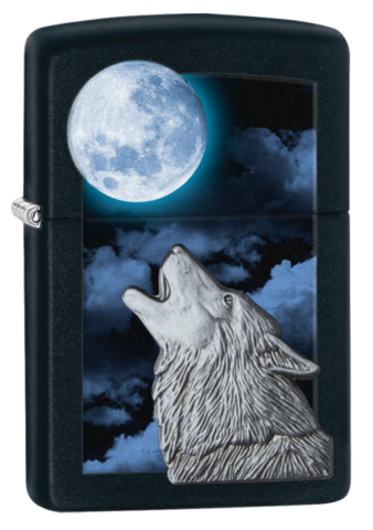 Howling Wolf Zippo