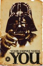 Large Framed Art Star Wars Your Empire