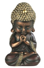 Brown Buddha Praying