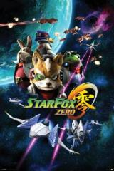 Large Framed Art Star Fox Zero
