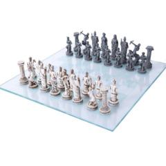 Greek Mythology Chess Set