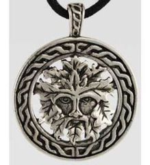 Celtic Visions Green Man Pendant