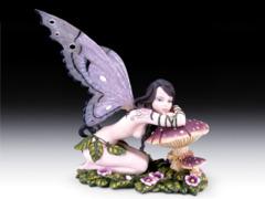 Large Fairy on Mushroom WFR-98
