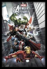 Large Framed Art Avengers Assemble