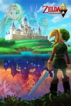Large Framed Art Zelda A Link Between Worlds