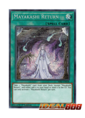 Mayakashi Return - HISU-EN038 - Secret Rare - 1st Edition