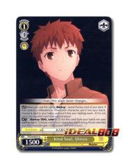 Kind Soul, Shirou [FS/S34-E017 U] English Uncommon