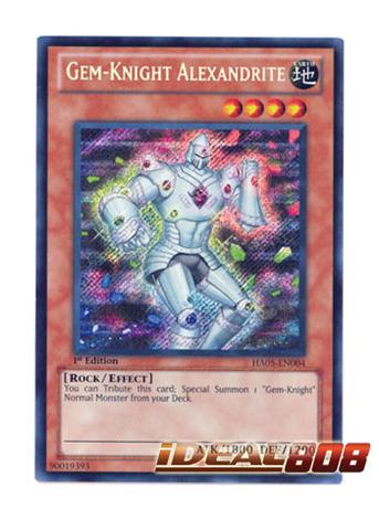 Gem-Knight Alexandrite - HA05-EN004 - Secret Rare - 1st Edition
