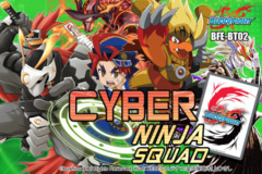 BFE-BT02 Cyber Ninja Squad (English) Future Card Buddyfight Booster Box