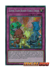 Super Team Buddy Force - FLOD-EN081 - Secret Rare - 1st Edition