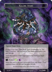 Killing Stone [LEL-097 R (Foil)] English