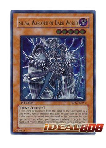EEN-EN023 Warlord of Dark World 1st Edition Ultimate Rare Sillva Near M