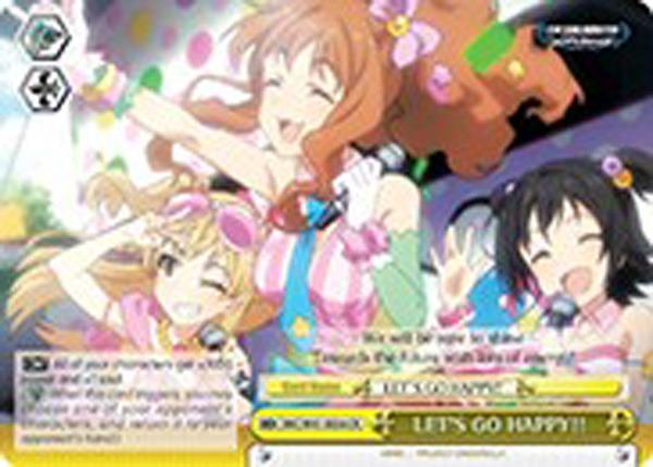LET'S GO HAPPY!! [IMC/W41-E036 CR] English