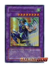 Elemental Hero Tempest - EEN-EN034 - Ultra Rare - 1st Edition