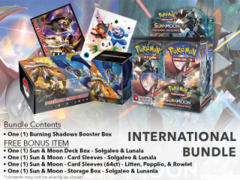 Pokemon SM03 International Edition - Get x1 Burning Shadows Booster Box, & Card Accessories
